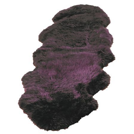 Origin Rugs Sheepskin plum single