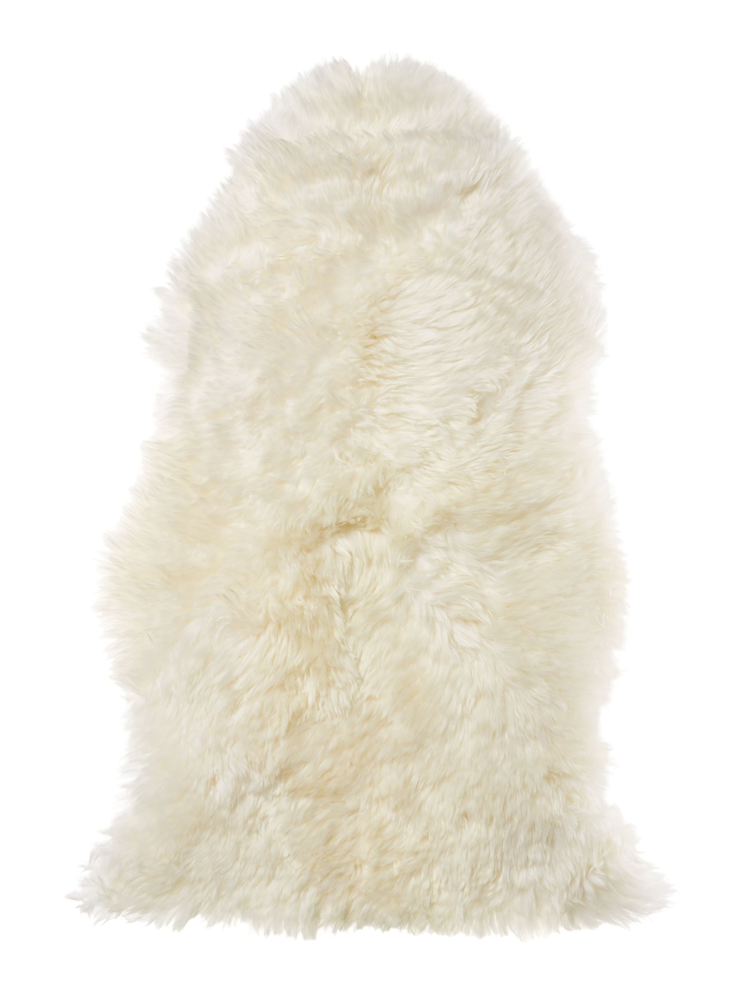 Linea Natural sheepskin, cream