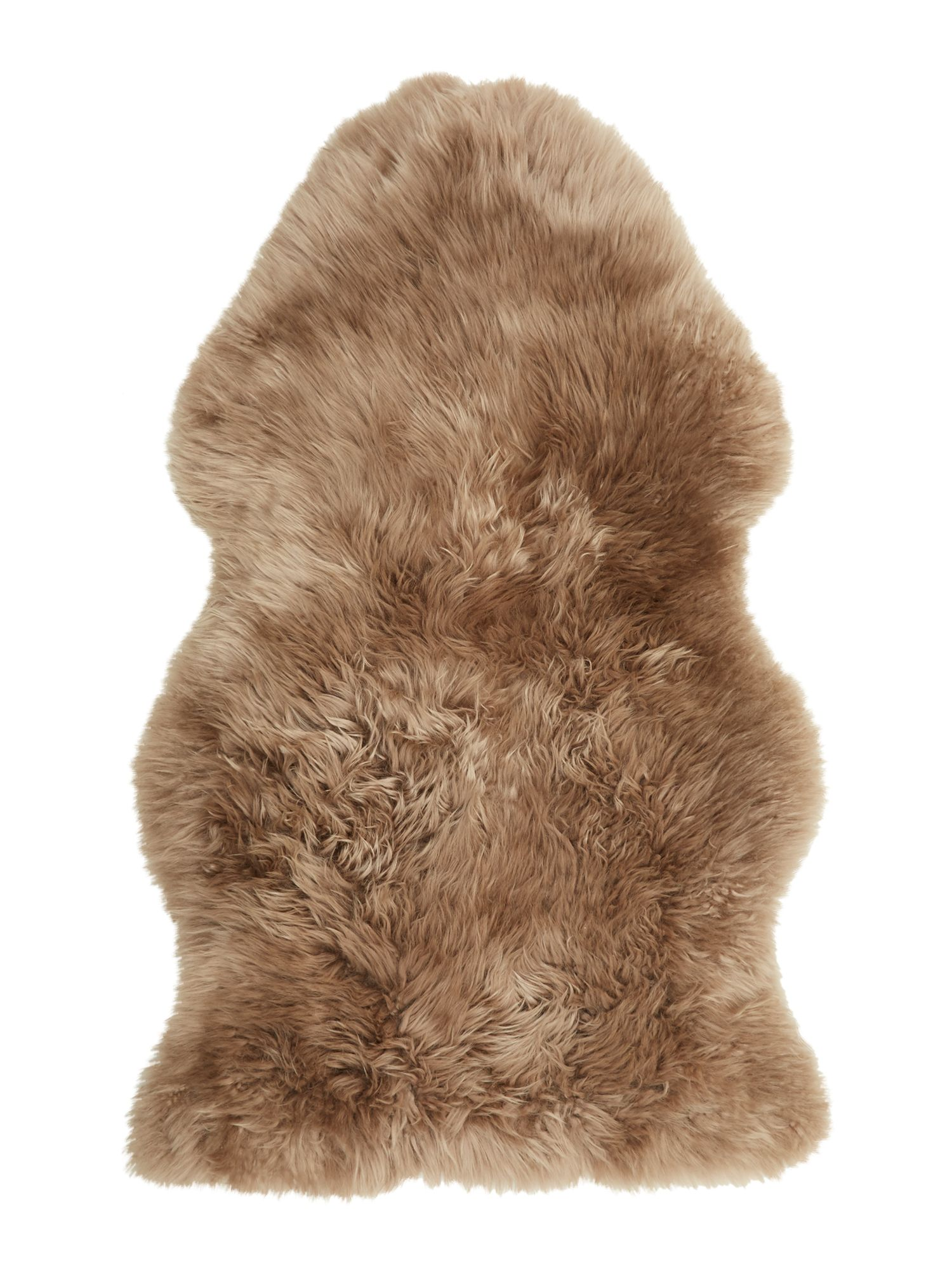 Linea Natural sheepskin, almond